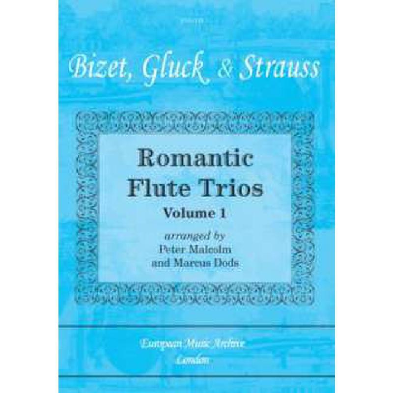 Titelbild für SPARTAN -EMA118 - ROMANTIC FLUTE TRIOS 1