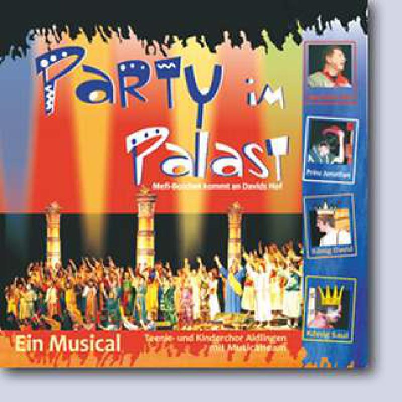 Titelbild für CAP 5205803 - PARTY IM PALAST - MEFI BOSCHET KOMMT AN DAVIDS HOF