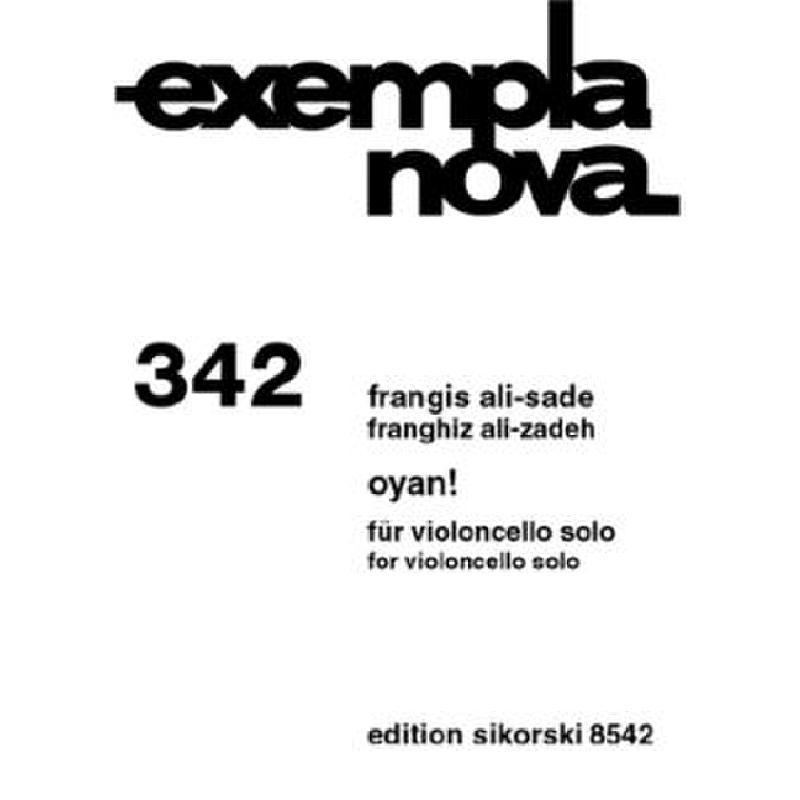 Titelbild für SIK 8542 - OYAN