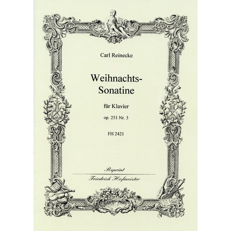 Titelbild für FH 2421 - WEIHNACHTSSONATINE OP 251/3