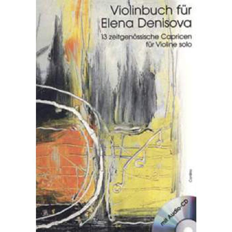 Titelbild für CONBRIO 1197 - VIOLINBUCH FUER ELENA DENISOVA