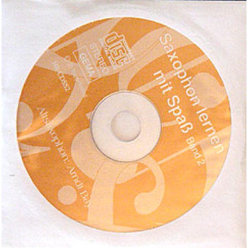 Titelbild für RAPP -CDSS2 - SAXOPHON LERNEN MIT SPASS 2