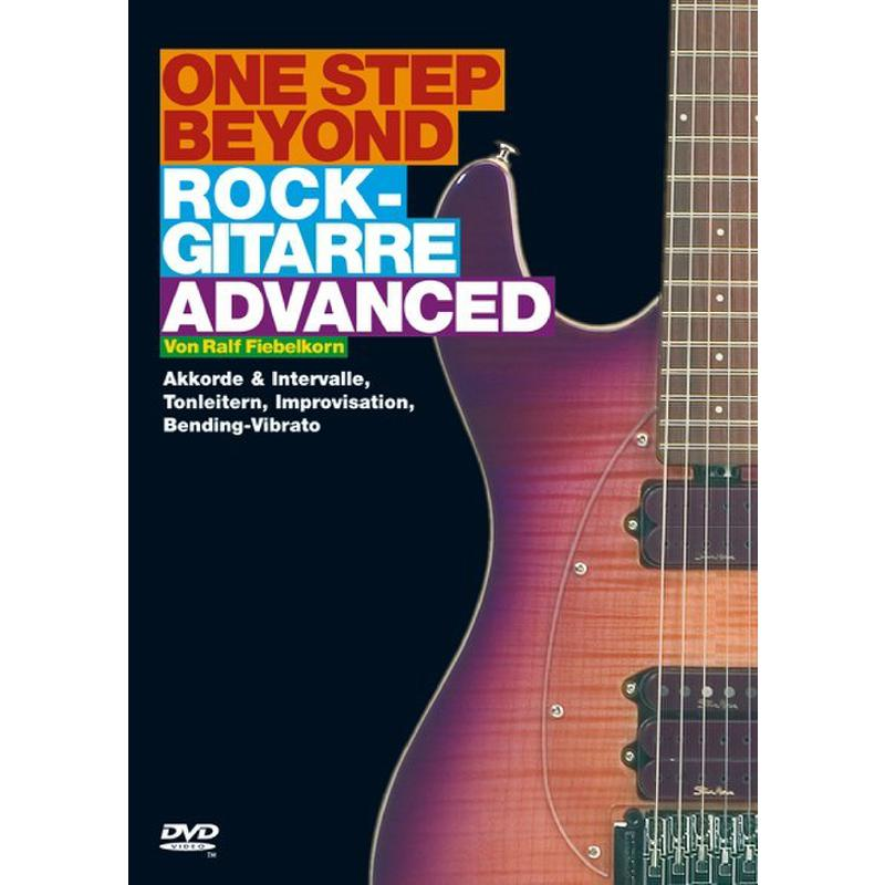 Titelbild für BOE 7270 - ONE STEP BEYOND - ROCKGITARRE ADVANCED