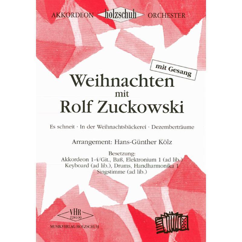 Titelbild für VHR 2281-00 - WEIHNACHTEN MIT ROLF ZUCKOWSKI