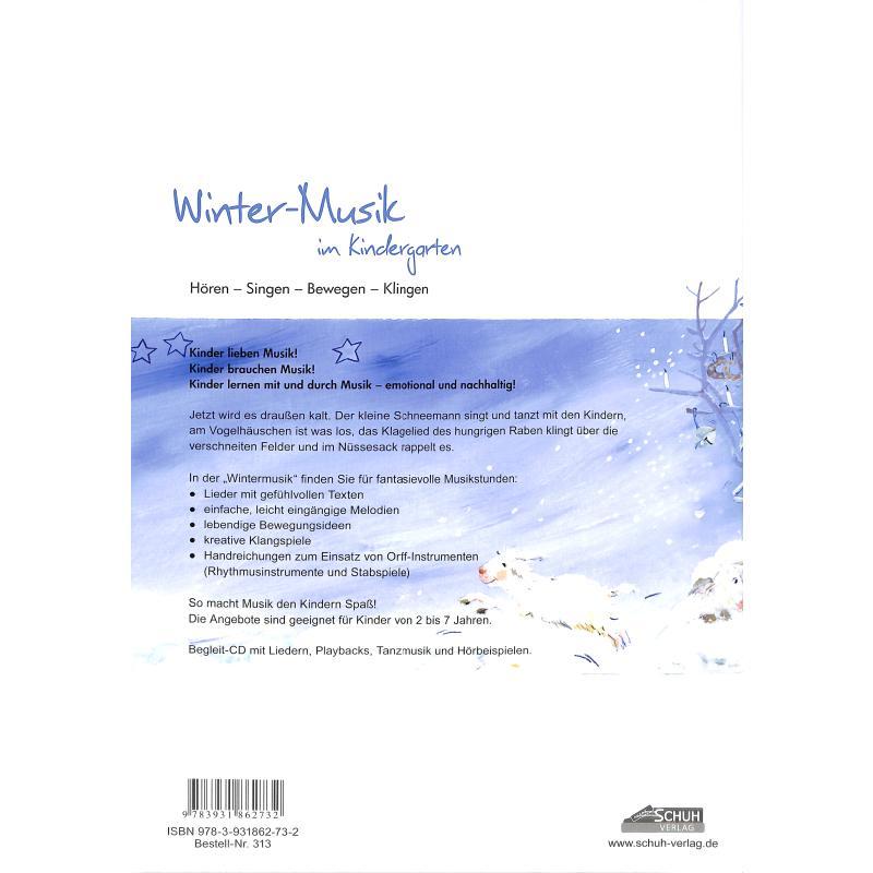 Winter Musik Im Kindergarten Von Schuh Karin Schuh 313 Noten