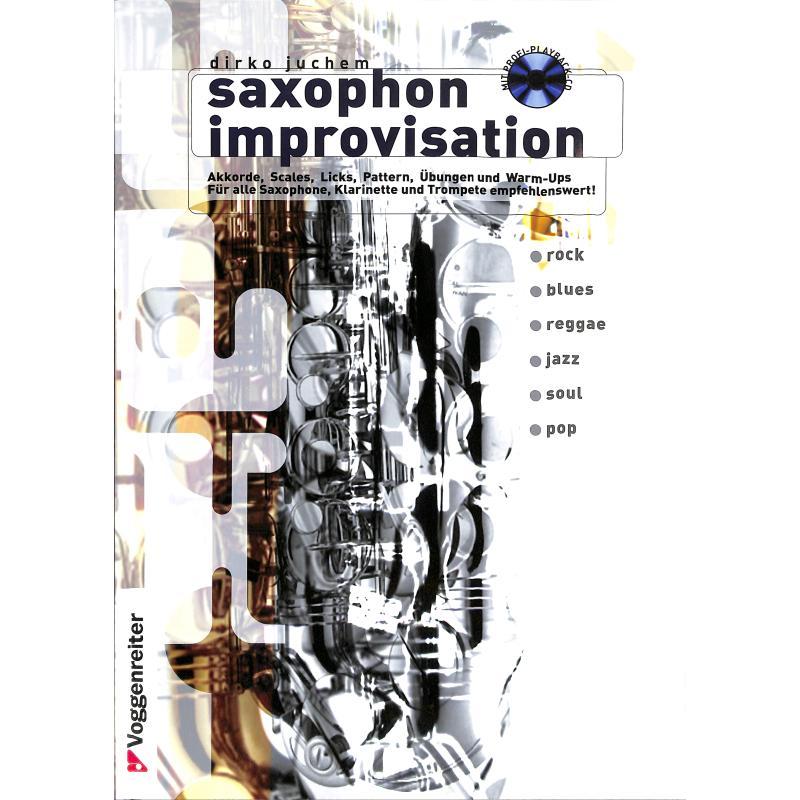 Titelbild für VOGG 0345-3 - SAXOPHON IMPROVISATION