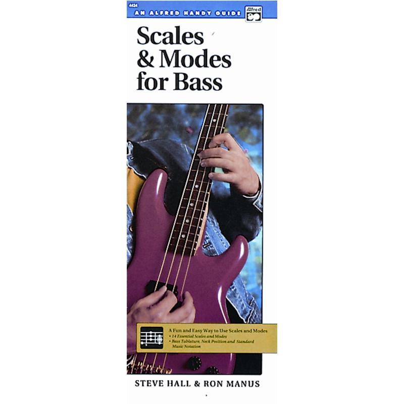 Titelbild für ALF 4434 - SCALES + MODES FOR BASS