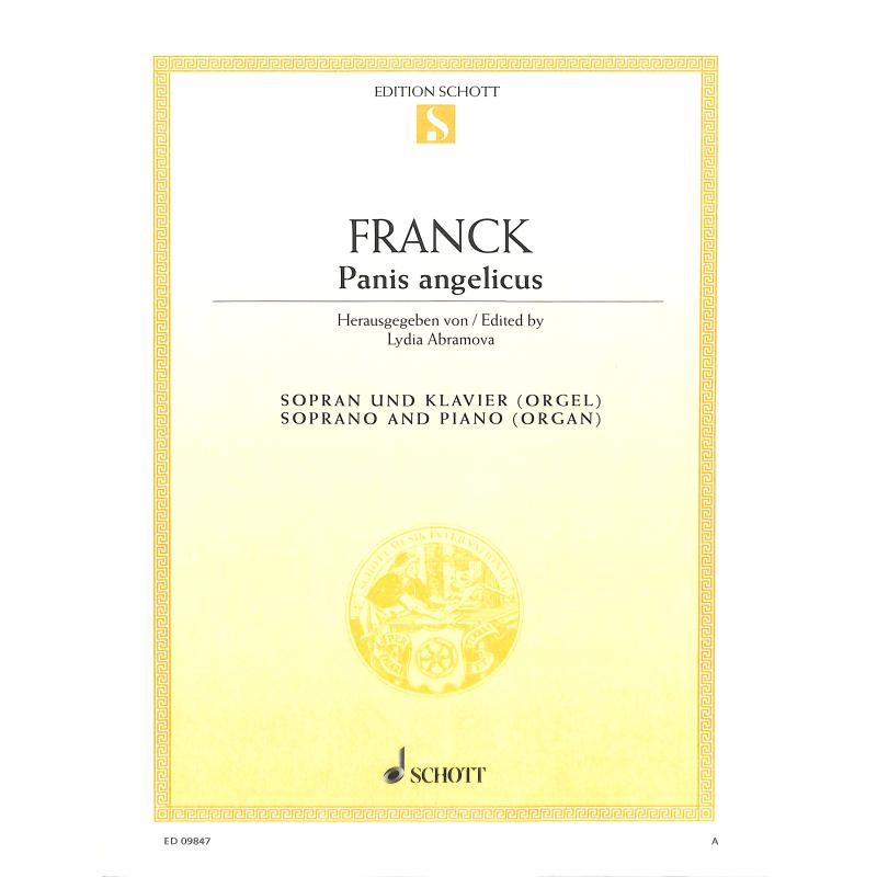 Titelbild für ED 09847 - PANIS ANGELICUS