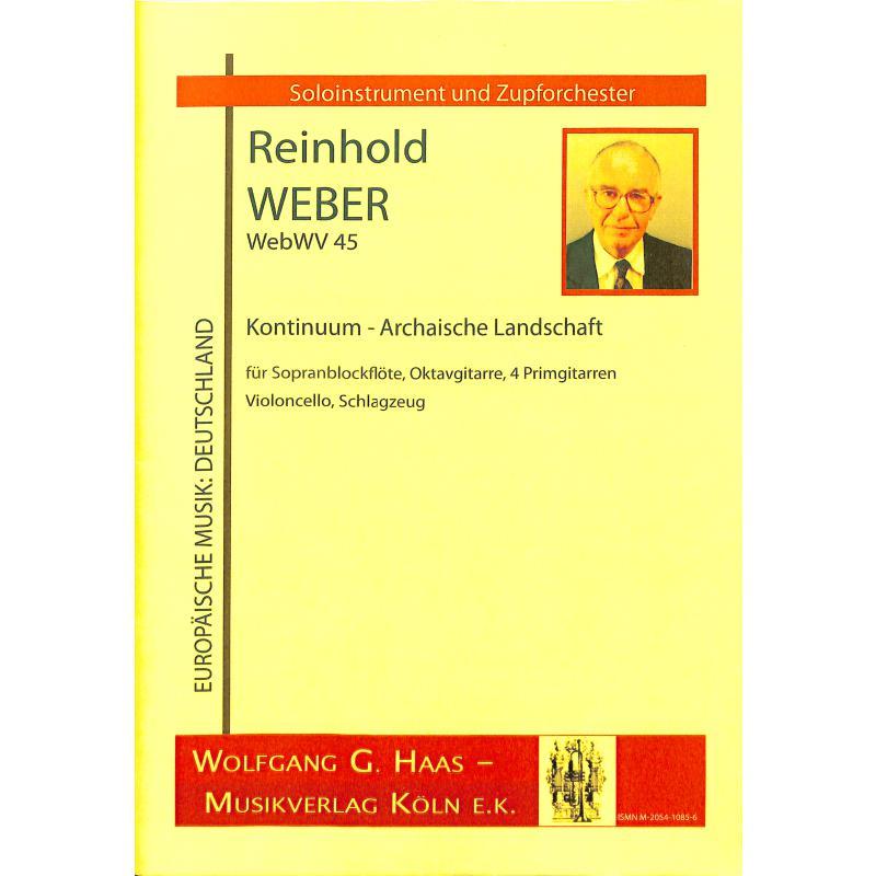Titelbild für HAAS 1085-6 - KONTINUUM - ARCHAISCHE LANDSCHAFT WEBWV 45