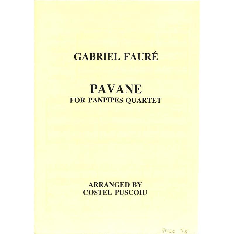 Titelbild für PUSCOIU 5 - PAVANE OP 50