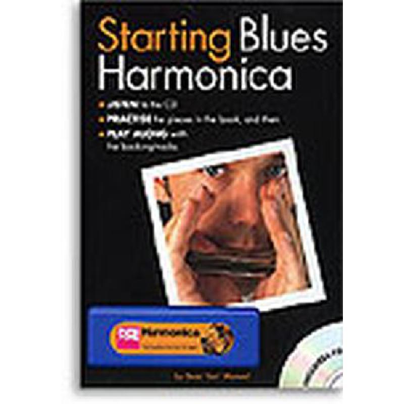 Titelbild für MSAM 991342 - STARTING BLUES HARMONICA