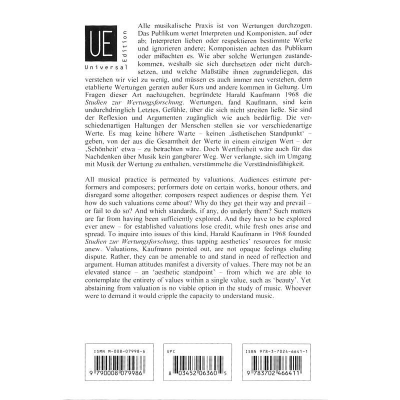 Notenbild für UE 26849 - VOM PREIS DES FORTSCHRITTS