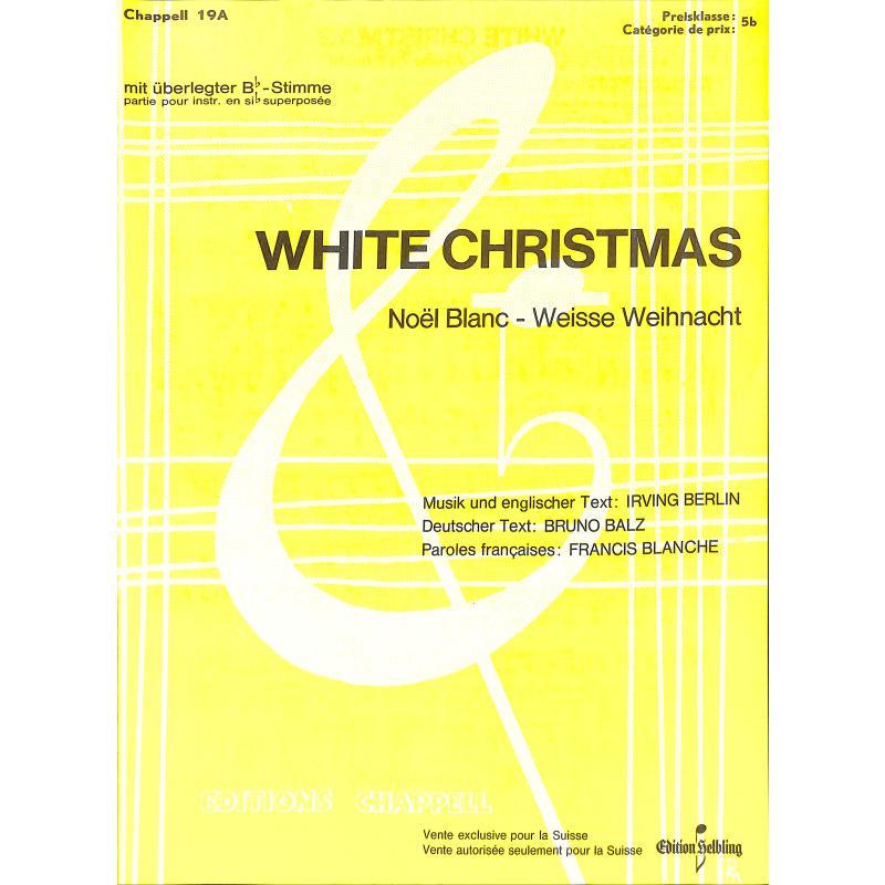 Titelbild für HELBLING GCH19A - WHITE CHRISTMAS
