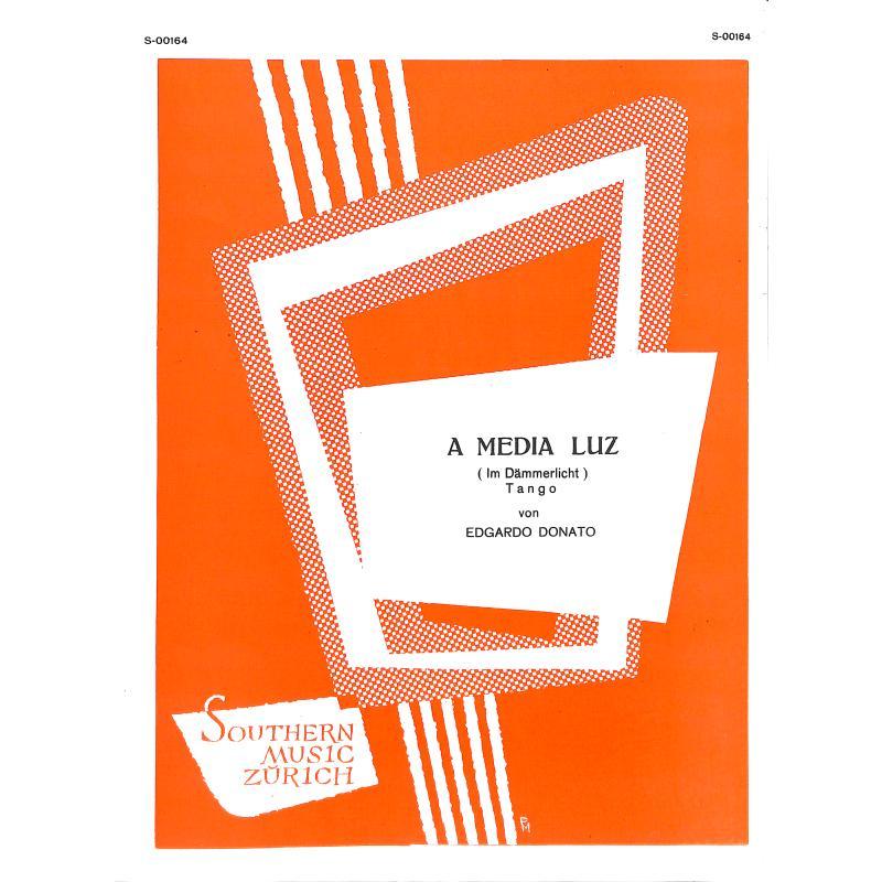 Titelbild für HELBLING .GS164A - A MEDIA LUZ - IM DAEMMERLICHT