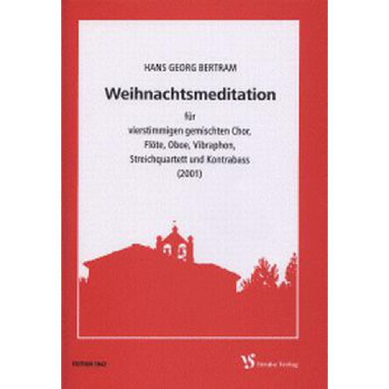 Titelbild für VS 1942 - WEIHNACHTSMEDITATION