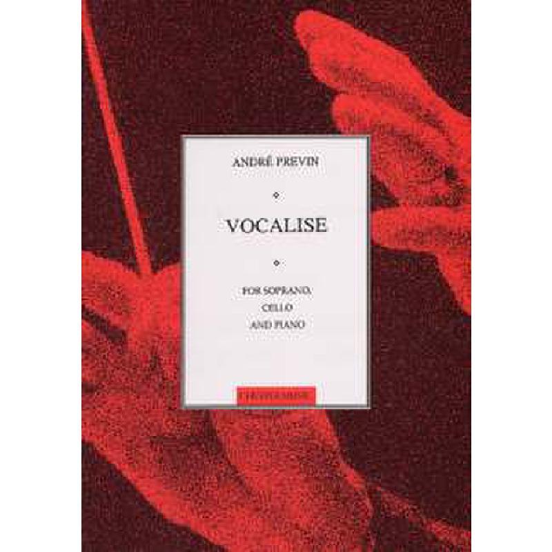 Titelbild für CH 61190 - VOCALISE