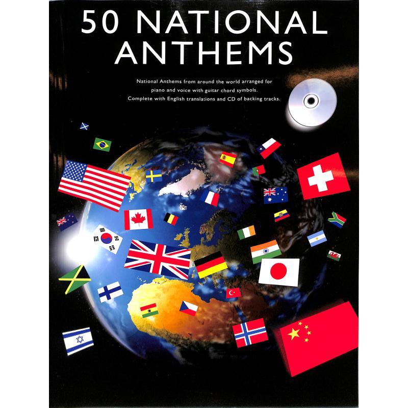 Titelbild für MSAM 989131 - 50 NATIONAL ANTHEMS