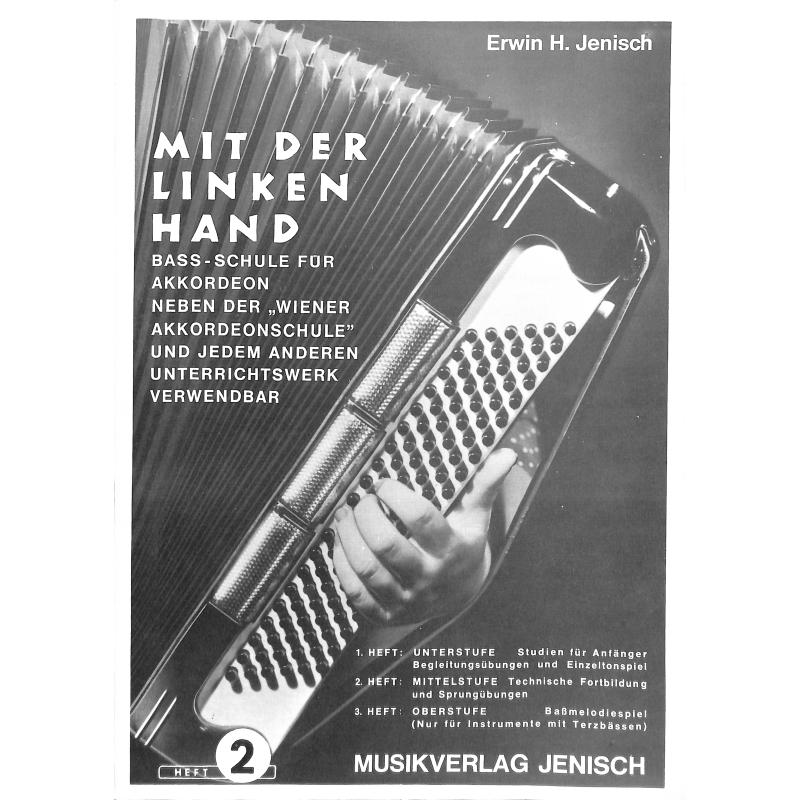 Titelbild für MJ -LI2 - MIT DER LINKEN HAND 2 - MITTELSTUFE