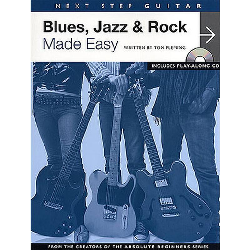 Titelbild für MSAM 982344 - BLUES JAZZ + ROCK MADE EASY