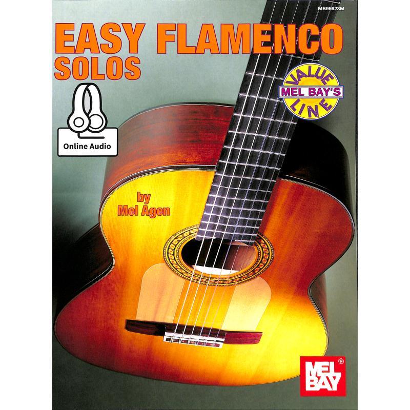 Titelbild für MB 96623BCD - EASY FLAMENCO SOLOS