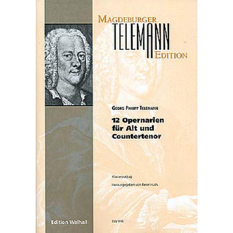 Titelbild für WALHALL 416 - 12 OPERNARIEN FUER ALT ODER COUNTERTENOR