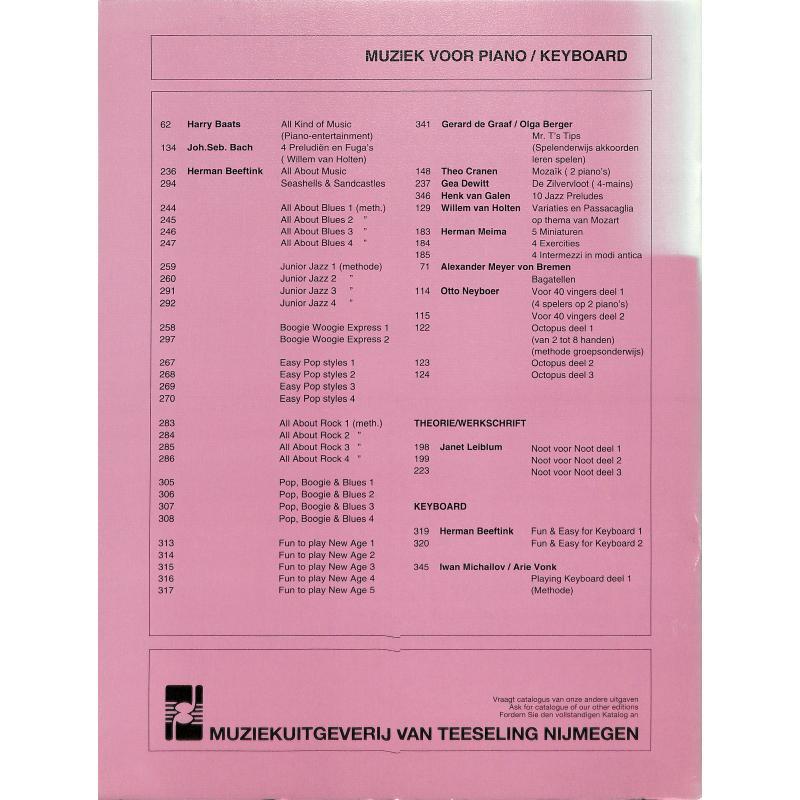 Notenbild für VT 346 - 10 JAZZ PRELUDES
