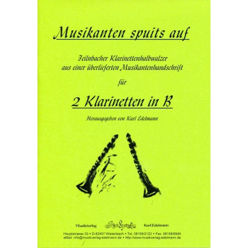 Titelbild für EDELMANN 6171 - MUSIKANTEN SPUIT'S AUF