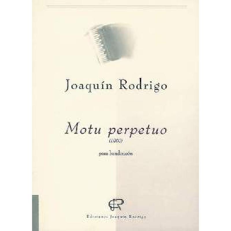 Titelbild für EJR 190147 - MOTU PERPETUO PARA BANDONEON (1960)