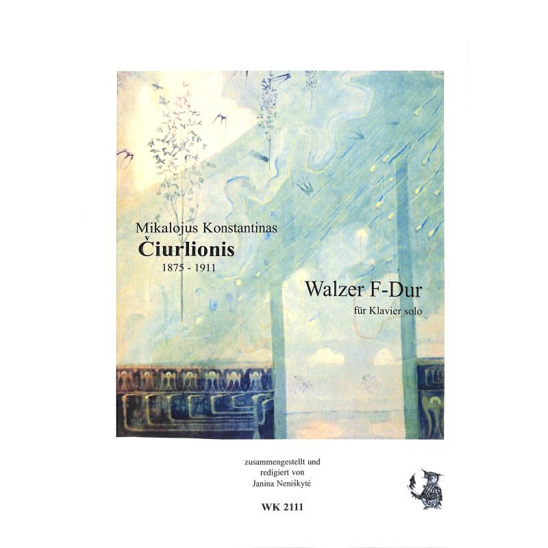 Titelbild für WK 2111 - WALZER F-DUR