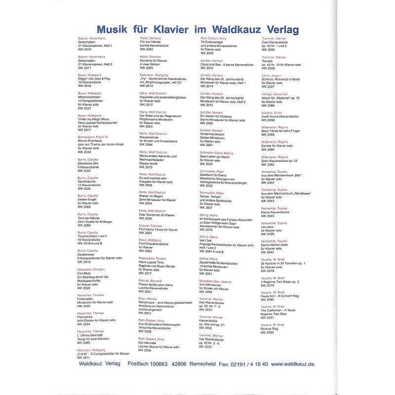 Notenbild für WK 2111 - WALZER F-DUR