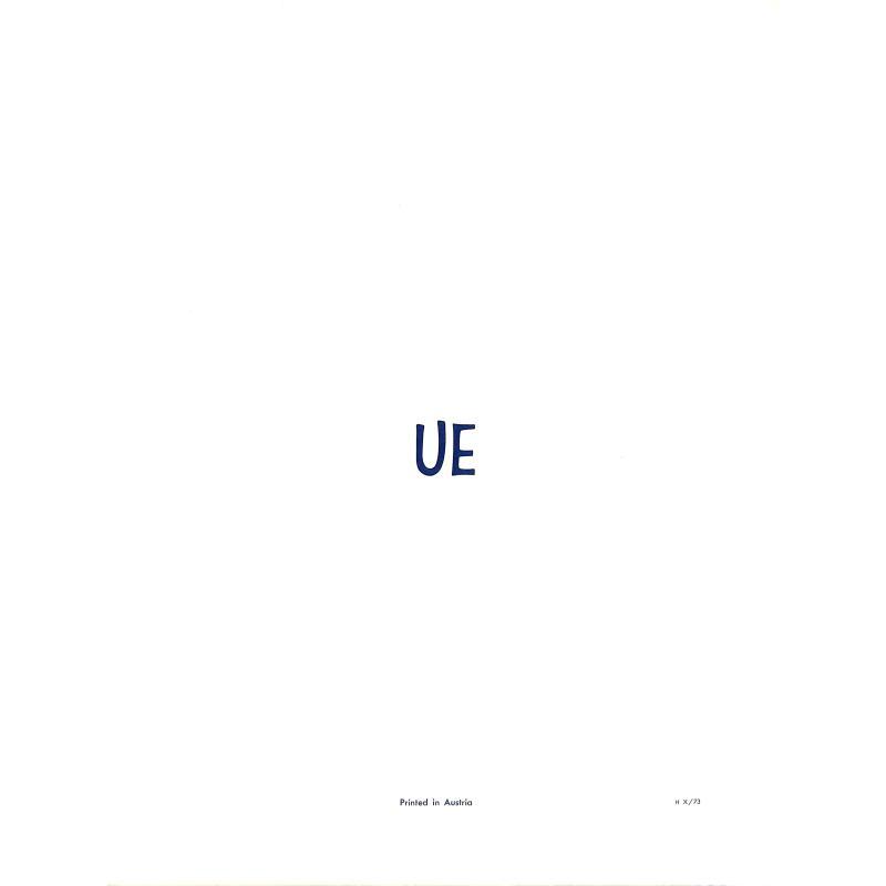 Notenbild für UE 3045 - VOLL JENER SUESSE (PETRARCA) OP 8/5 AUS 6 ORCHESTERLIEDER