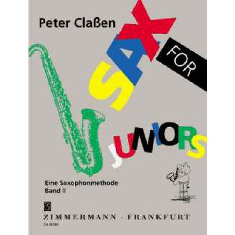 Titelbild für ZM 80280 - SAX FOR JUNIORS 2