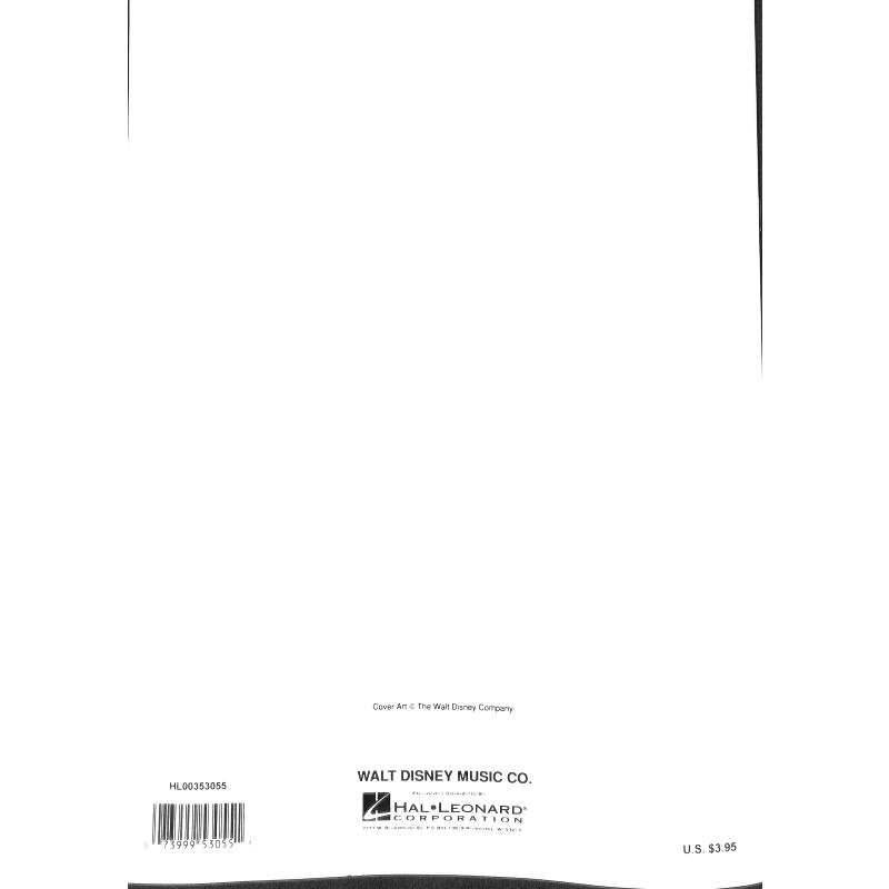 Notenbild für HL 353055 - A WHOLE NEW WORLD