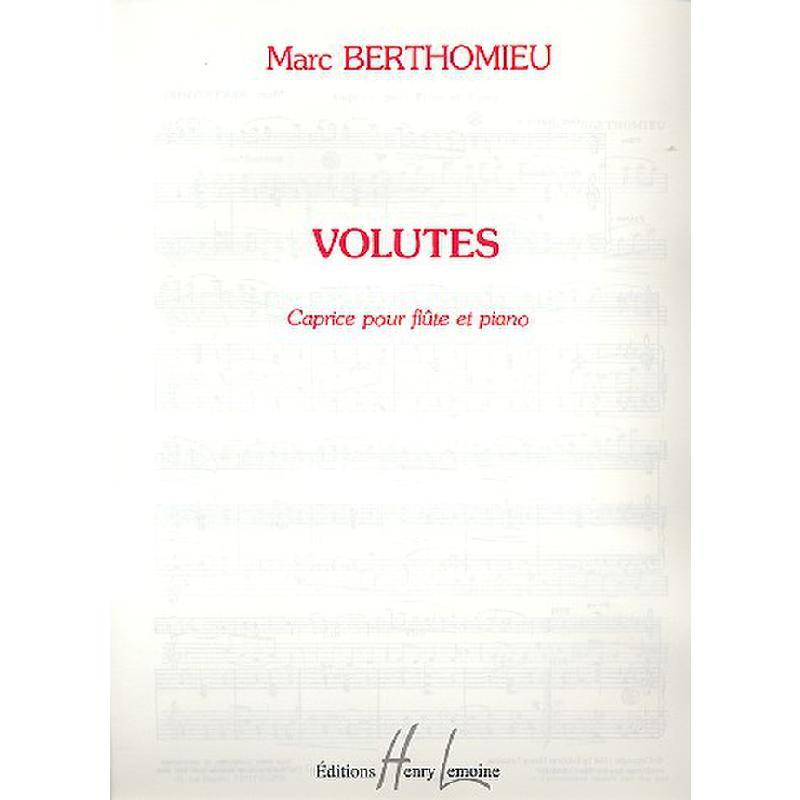 Titelbild für LEMOINE 24707 - VOLUTES