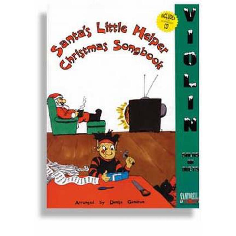 Titelbild für SANTOR -TS176WCD - SANTA'S LITTLE HELPER - CHRISTMAS SONGBOOK