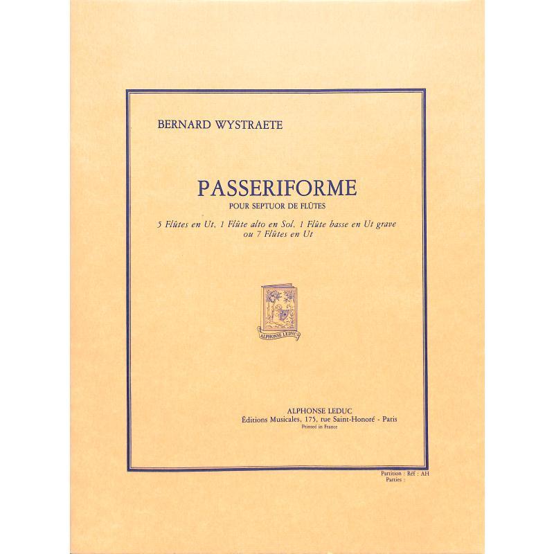 Titelbild für AL 26075 - PASSERIFORME