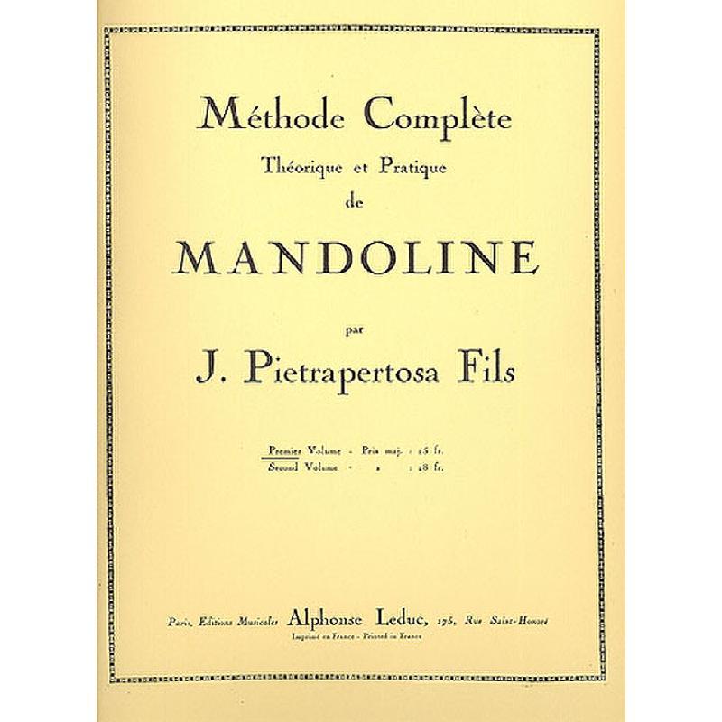 Titelbild für AL 22672 - METHODE COMPLETE 1