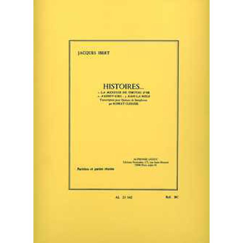 Titelbild für AL 23162 - HISTOIRES