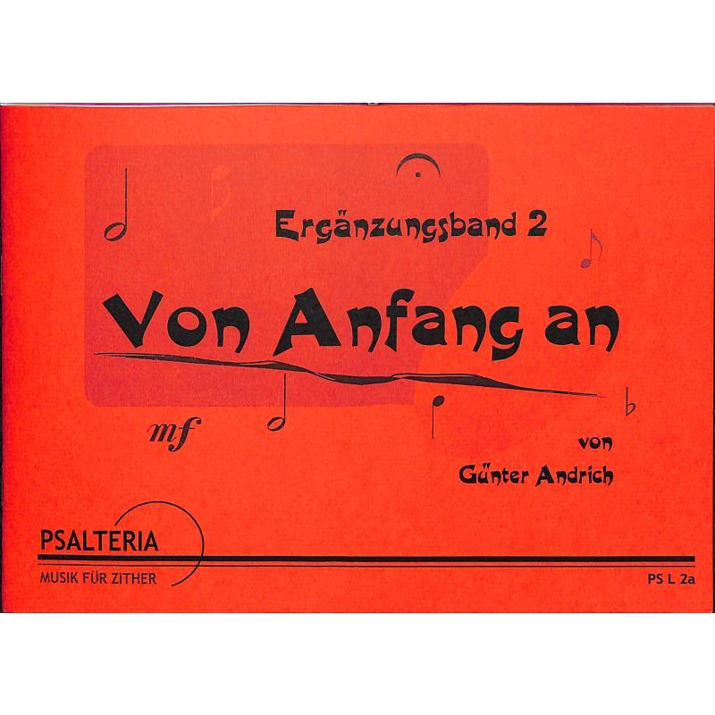 Titelbild für PSALTERIA -L2A - VON ANFANG AN 2 ERGAENZUNGSBAND