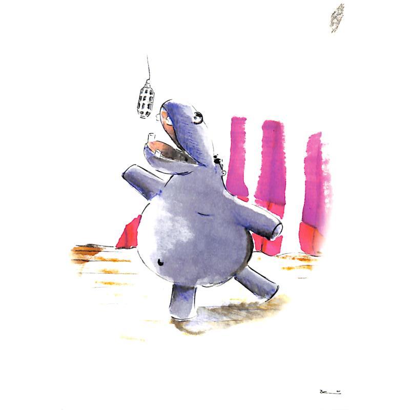 Titelbild für SCHNIER 124004-3 - ZOOLU MUSIC CARD - HIPPOPOTAMUS