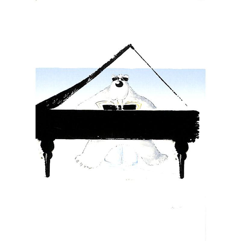 Titelbild für SCHNIER 124004-1 - ZOOLU MUSIC CARD - POLAR BEAR
