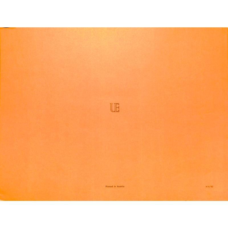 Notenbild für UE 16680 - DIE REISENDE CERES