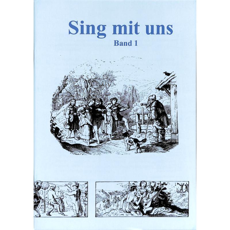 Titelbild für VERTRIEB 961201 - SING MIT UNS 1 - LIEDERBUCH FUER SENIOREN