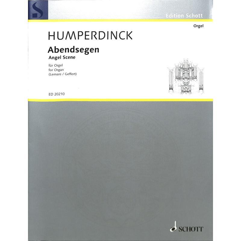 Titelbild für ED 20210 - ABENDSEGEN (HAENSEL + GRETEL)