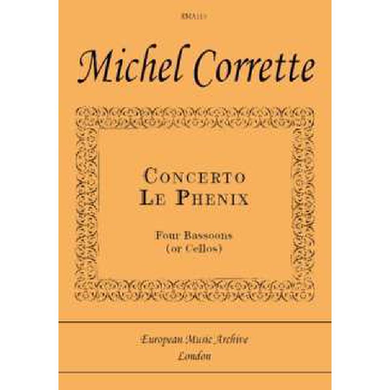 Titelbild für SPARTAN -EMA113 - CONCERTO LE PHENIX