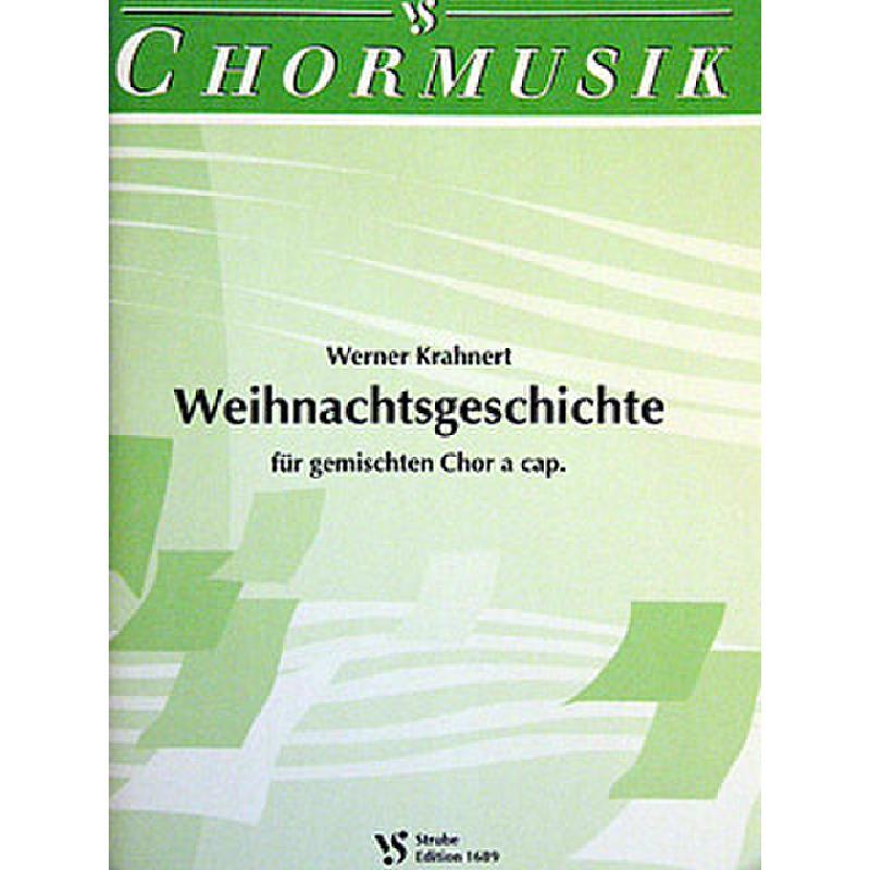 Titelbild für VS 1689 - WEIHNACHTSGESCHICHTE