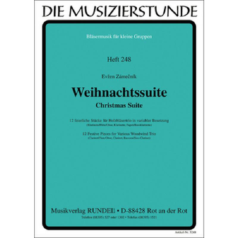 Titelbild für RUNDEL 5248 - WEIHNACHTSSUITE - CHRISTMAS SUITE