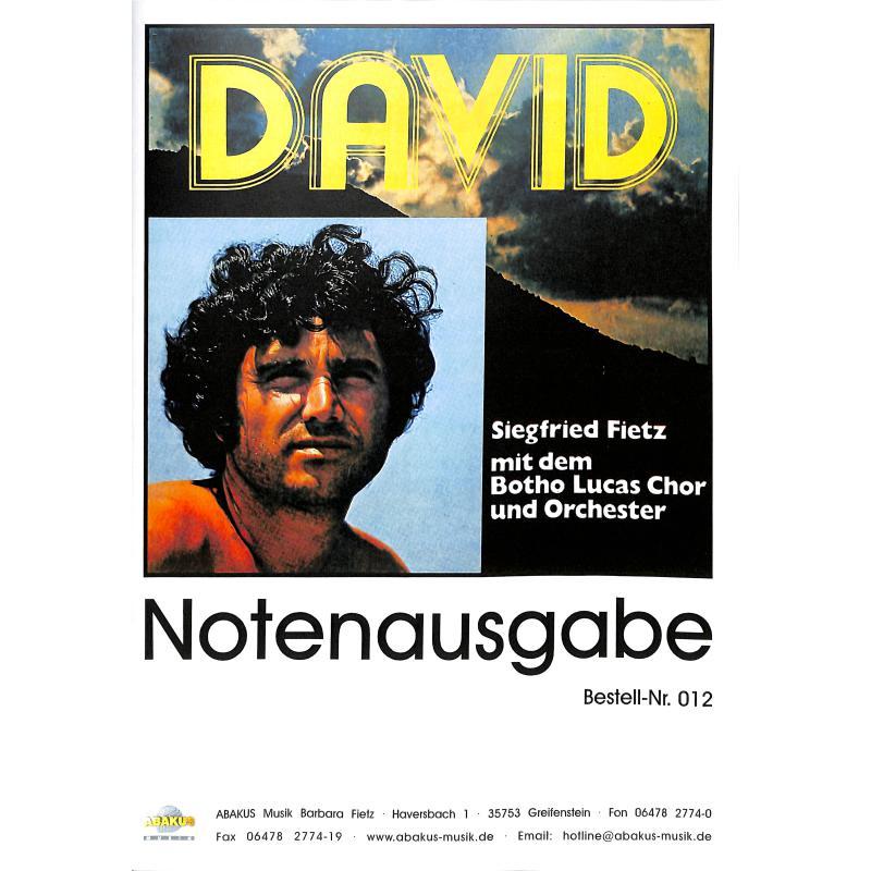 Titelbild für ABAKUS 012 - DAVID