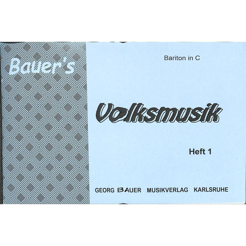 Titelbild für BAU 281-BARC - VOLKSMUSIK 1
