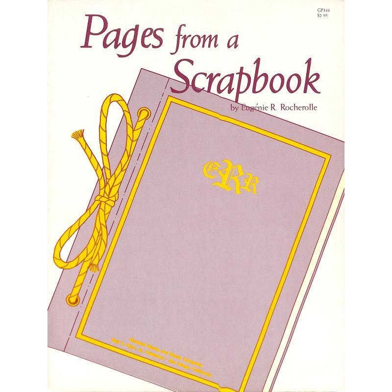 Titelbild für KJOS -GP344 - PAGES FROM A SCRAPBOOK